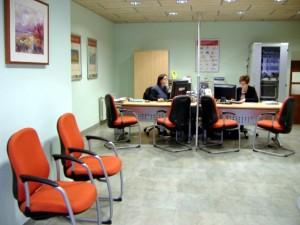 Buscallà Assessoria Assegurances Immobiliària al Berguedà - interior oficina Gironella