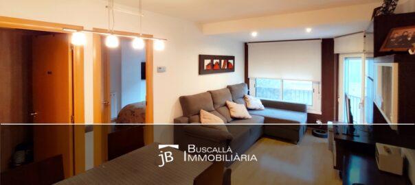 Venda pis reformat a Gironella-menjador-estar-Buscalla Immobiliaria al Berguedà-vp174