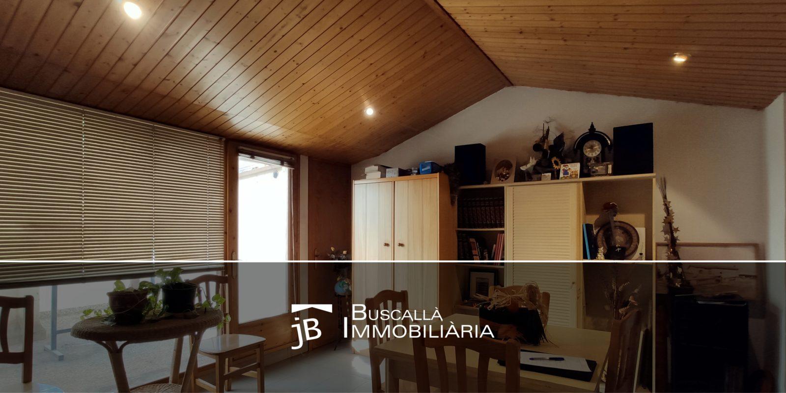 Dúplex en venda al Berguedà, Gironella-sala estudi-Buscallà Immobiliària