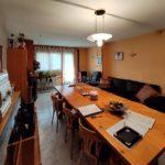 Dúplex en venda al Berguedà, Gironella-taula menjador-Buscallà Immobiliària