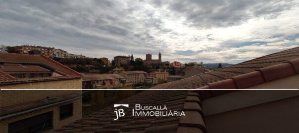 Obra nova pisos en venda amb terrassa i aparcament al Berguedà-vistes Gironella-186vp