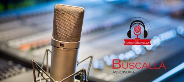 Parlem de Renda 2020 a Ràdio Gironella-Buscallà assessoria al Berguedà