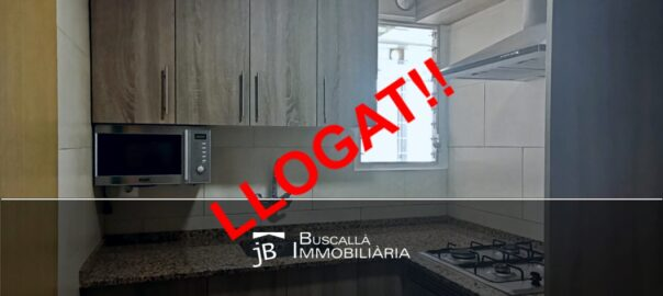Lloguer a Berga pis planta baixa-cuina reformada-Buscallà Immobiliària-196lp